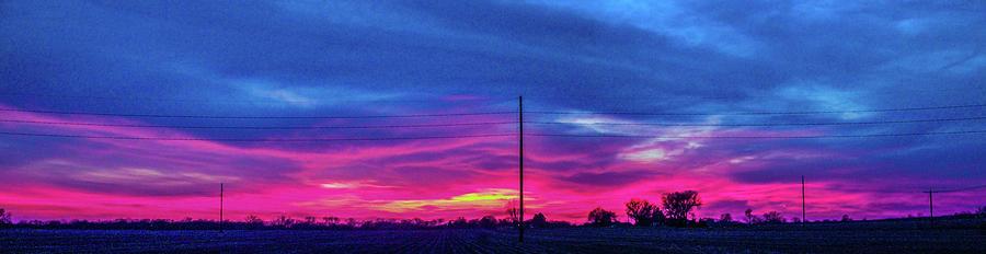 Cloudscape Photograph - Sweet Nebraska Sunset 006 by NebraskaSC