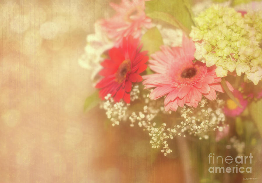 Bouquet Photograph - Sweet Nothings by Beve Brown-Clark Photography