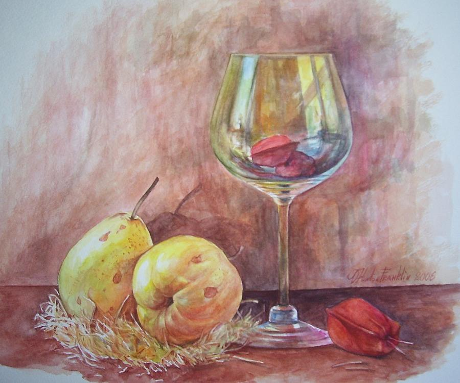 Sweet Painting by Oksana Franklin