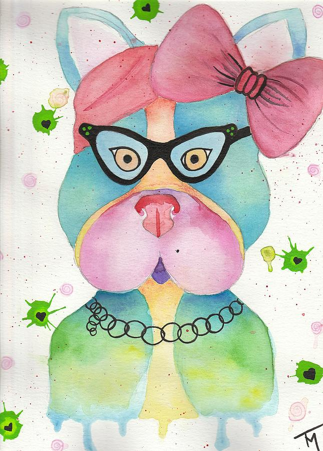 Love Painting - Sweet Pea by Kat Meza