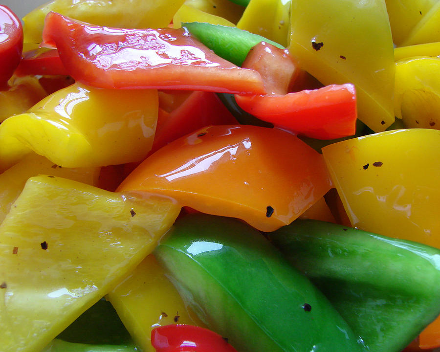 Sweet Peppers by Jana Russon