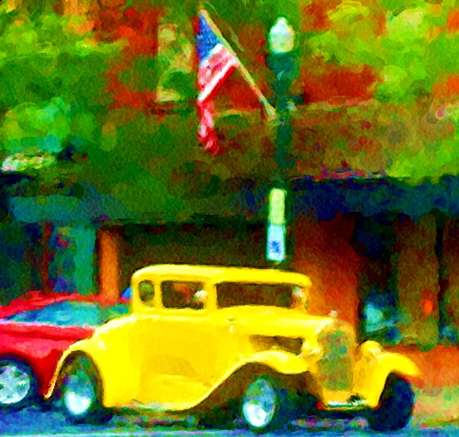 Hot Rod Photograph - Sweet Ride by David Lane
