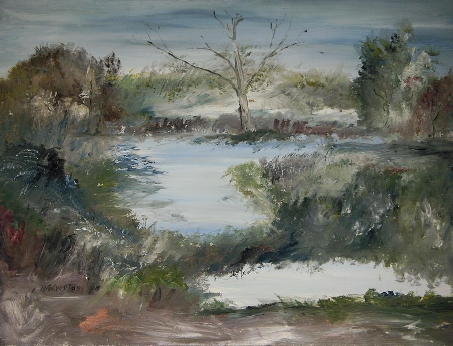 Landscape Painting - Sweet River by Edward Wolverton