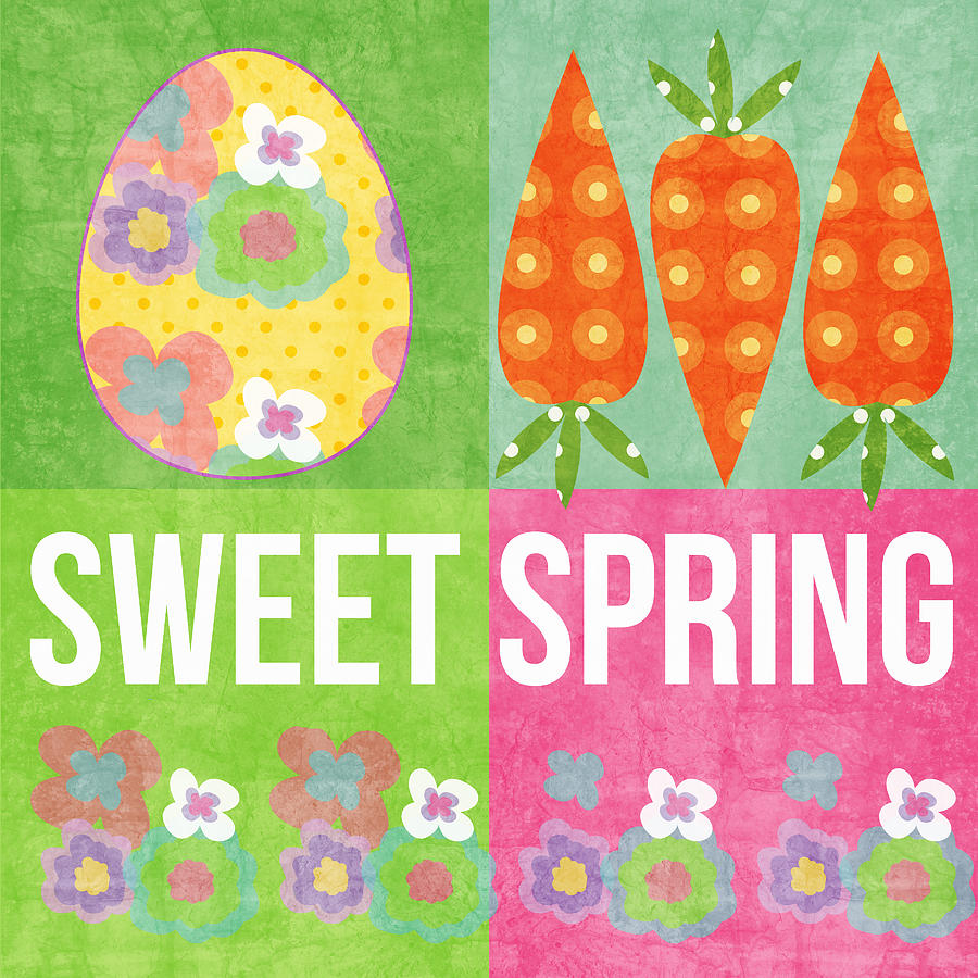 Sweet Spring Mixed Media