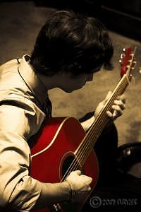 Guitar Photograph - Sweet Strings by Trevor Surges