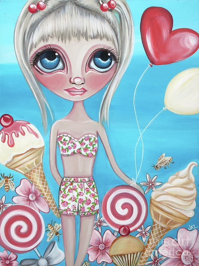 Painting Painting - Sweet Summer by Jaz Higgins