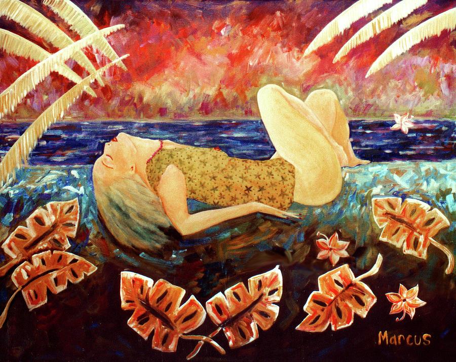 Hawaii Painting - Sweet Surrender by Leslie Marcus