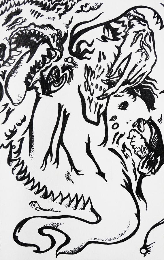 Sweet Drawing - Sweet Teeth by Joseph Demaree