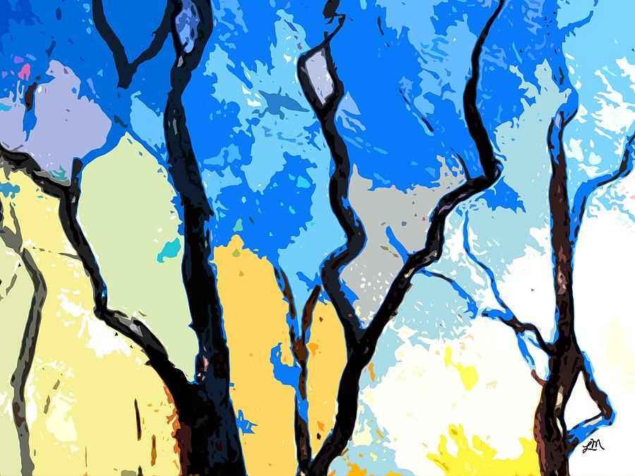 Abstract Expressionism Digital Art - Sweet View by Linda Mears