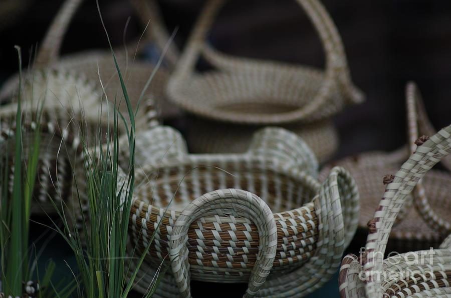 Sweetgras Baskets In Charleston Sc Photograph