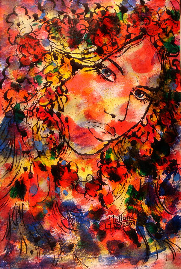 Impressionism Painting - Sweetheart by Leonard Holland