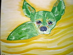 Pet Portraits Painting - Sweetie Pie by Suzanne Filotei