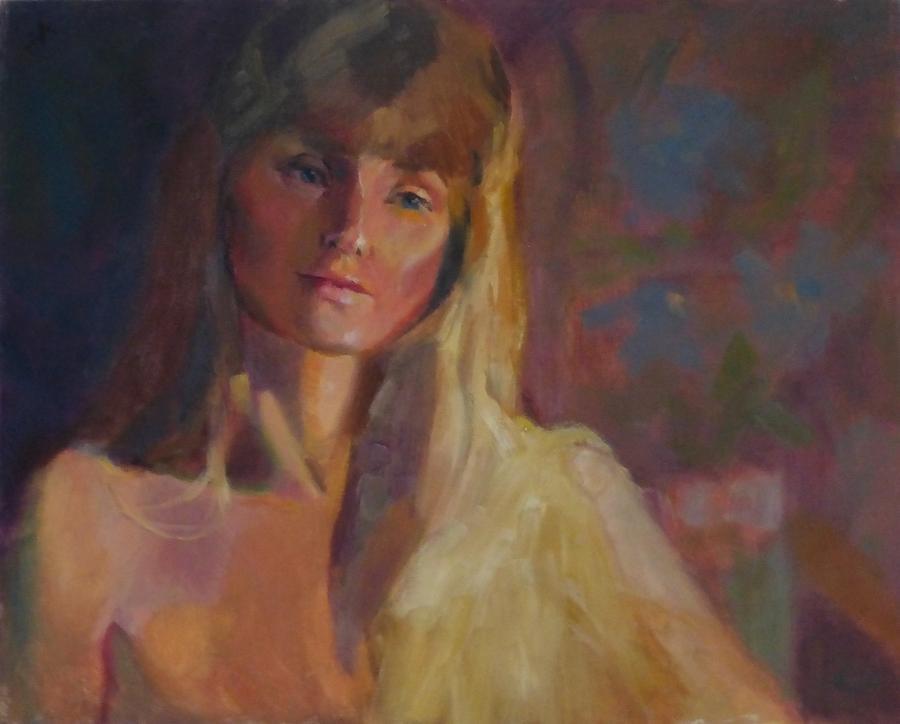 Portrait Painting - Sweetness by Irena Jablonski