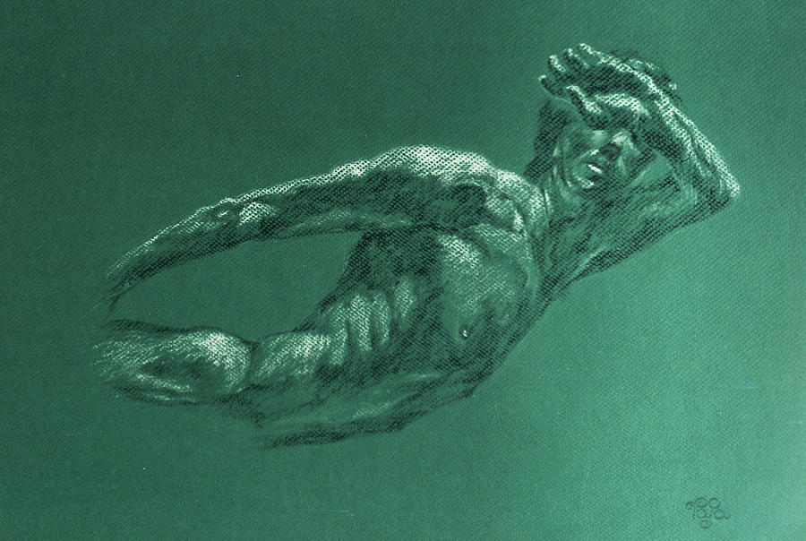 Model Painting - Swiming Model by Mohd Raza-ul Karim