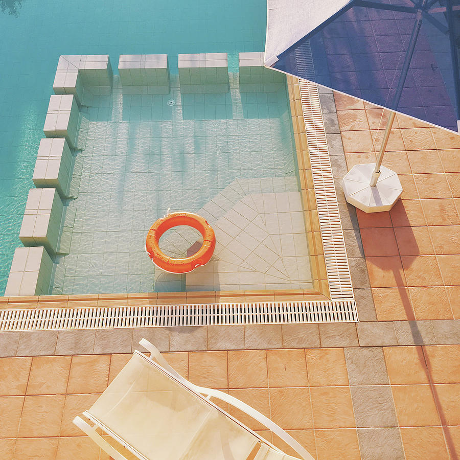 Water Photograph - Swimming Pool by Cassia Beck
