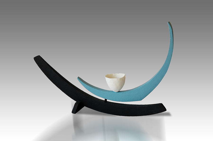 Contemporary Sculpture - Swing by Patricia  Volk