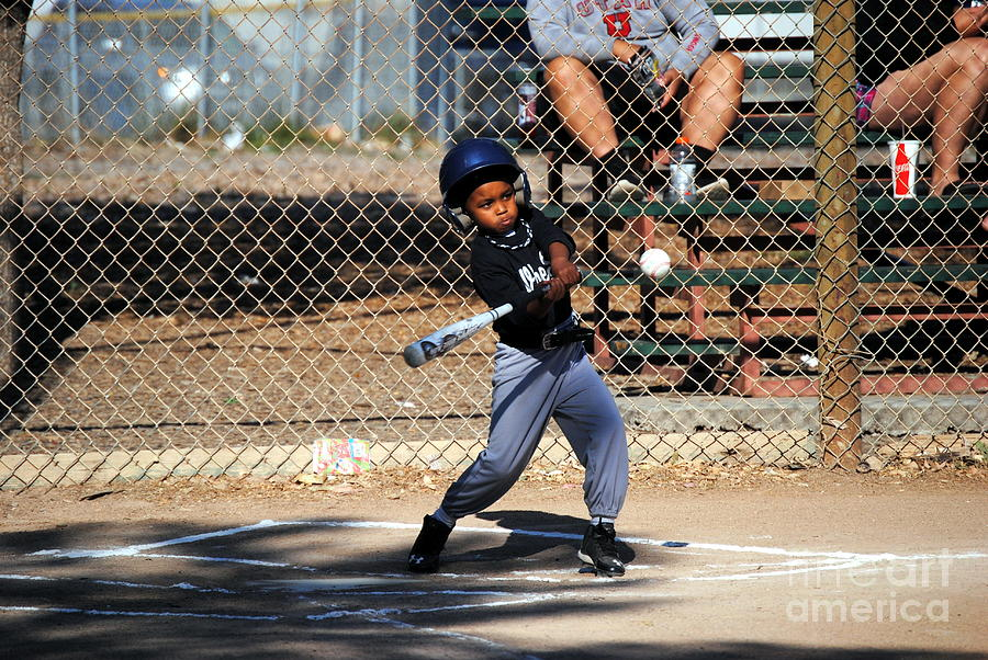 Baseball Photograph - Swinging For The Fences by Brooks Creative -Photography and Artwork By Anthony Brooks