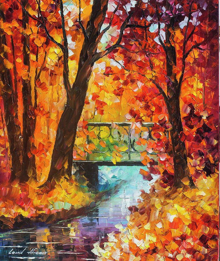Painting Painting - Swinging Time by Leonid Afremov