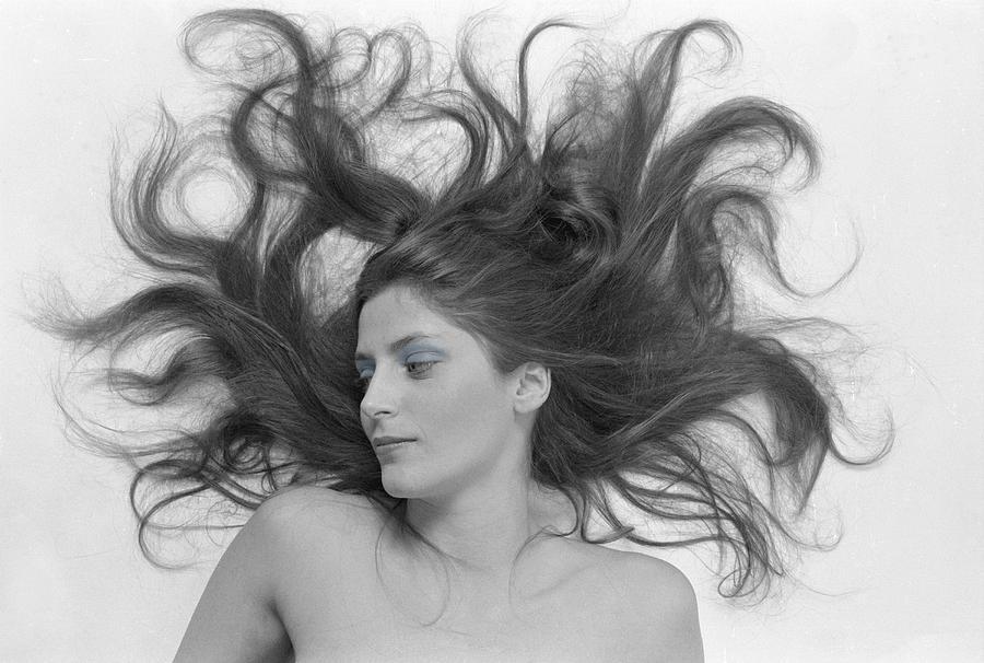 Hair Photograph - Swirl Girl by Gerard Fritz