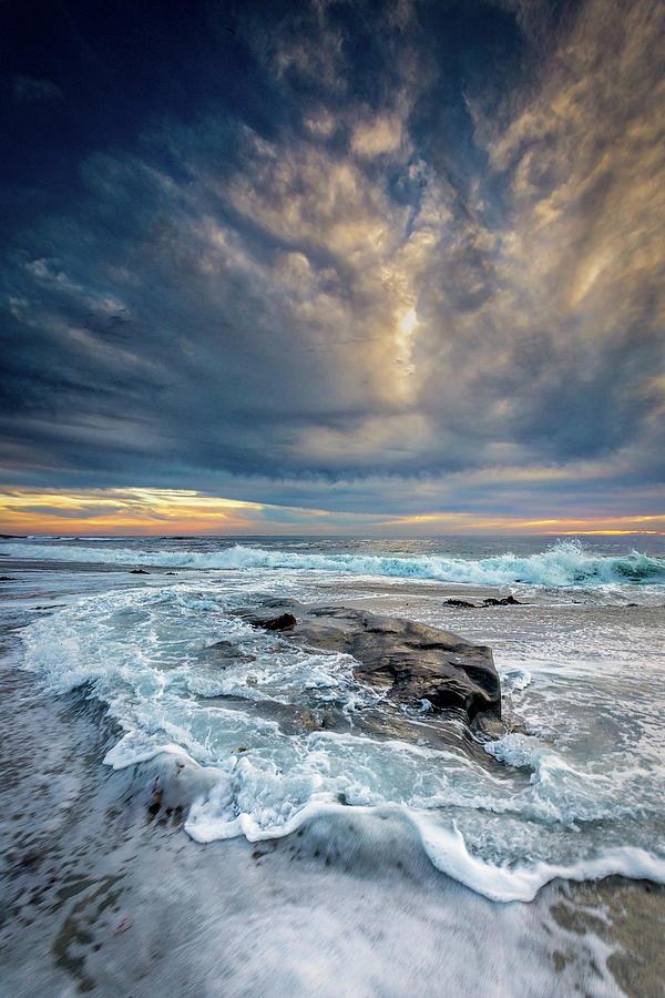 Beach Photograph - Swirl by Peter Tellone