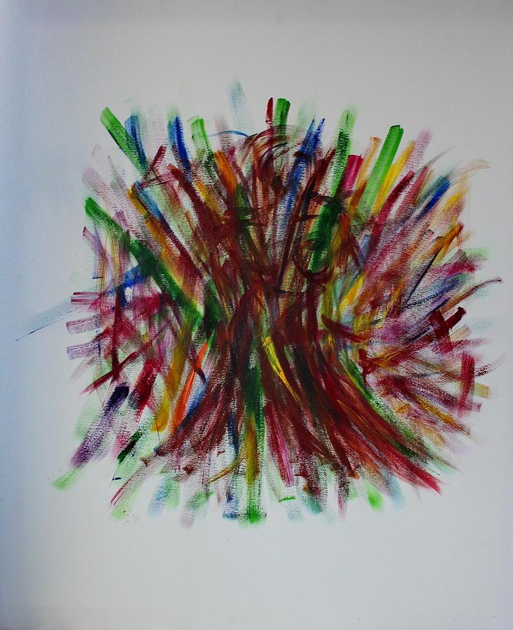 Dance Painting - Swish by Tom Atkins
