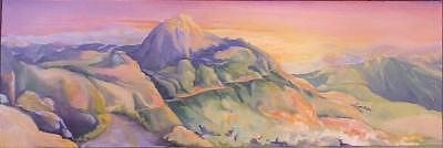 Switchbacks Painting by Irene Corey