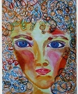 Switzerland Women Painting by Kamuran Ozdemir