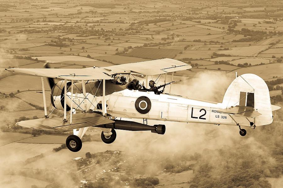 British Photograph - Swordfish Aircraft by Roy Pedersen
