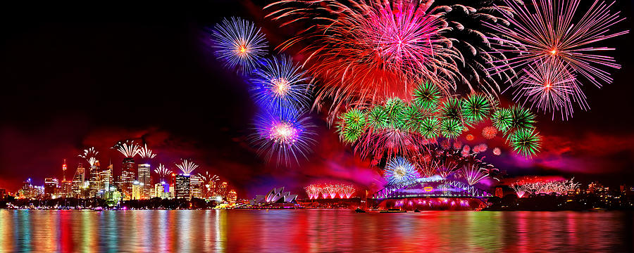 Sydney Photograph - Sydney Celebrates by Az Jackson