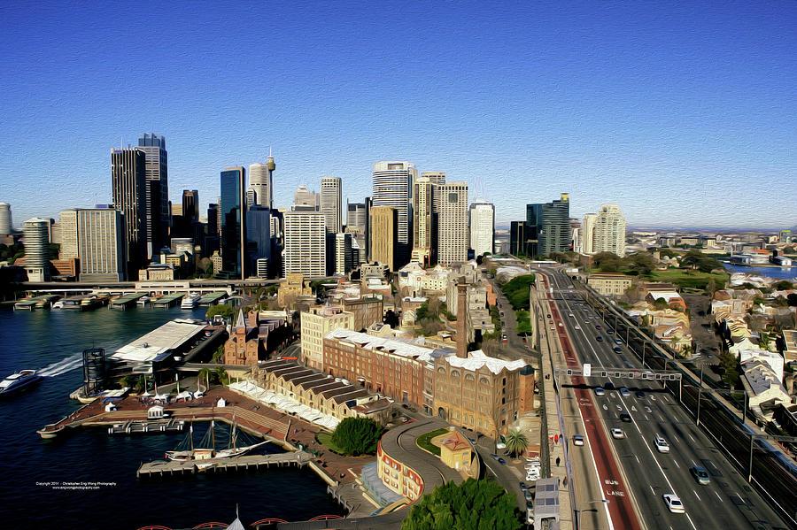 Sydney Digital Art - Sydney by Christopher Eng-Wong