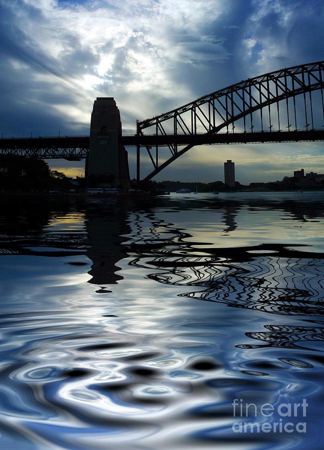 Sydney Harbour Bridge Reflection Photograph