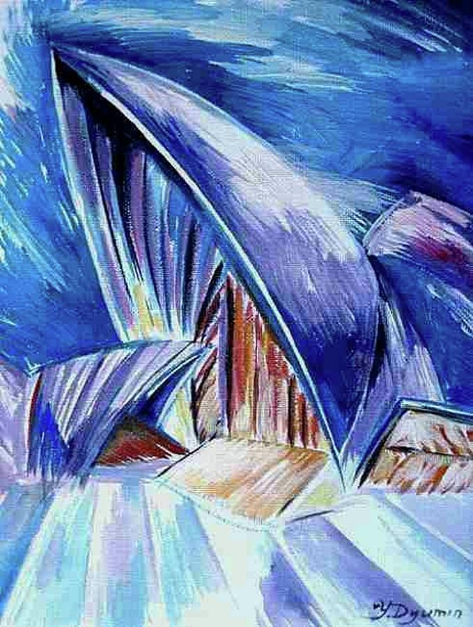 Australia Painting - Sydney Harbour II by Yelena Revis