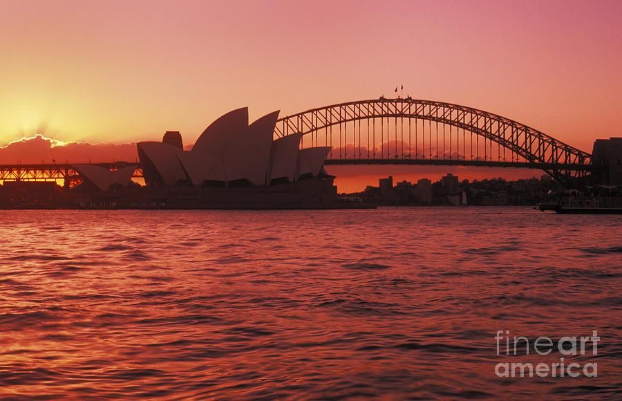 Arch Photograph - Sydney Opera House by Bill Bachmann - Printscapes