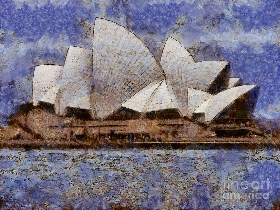 Sydney Opera House by Fran Woods