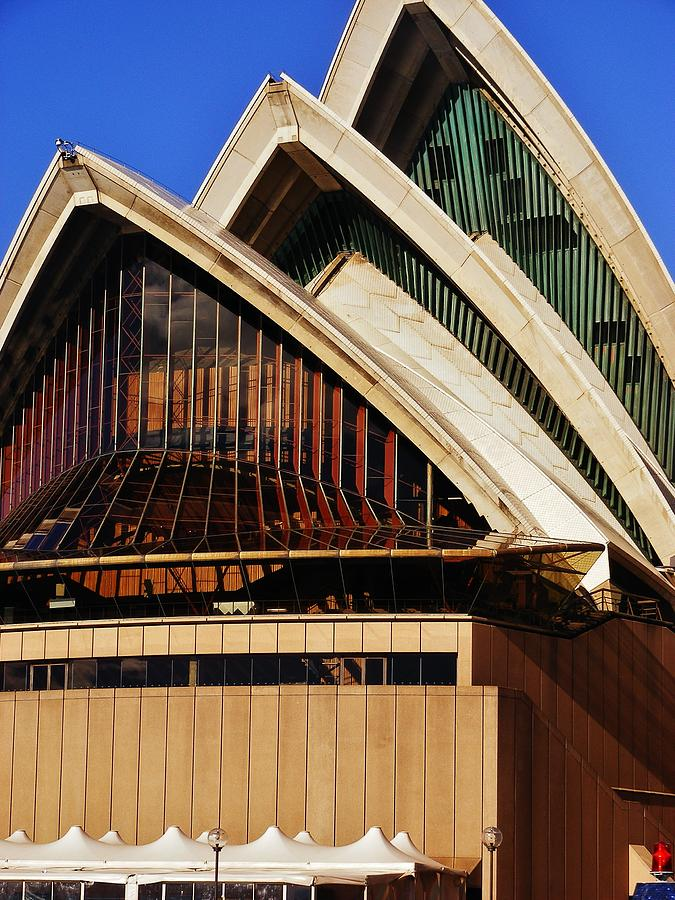sydney opera house gables and windows photograph by cl redding. Black Bedroom Furniture Sets. Home Design Ideas