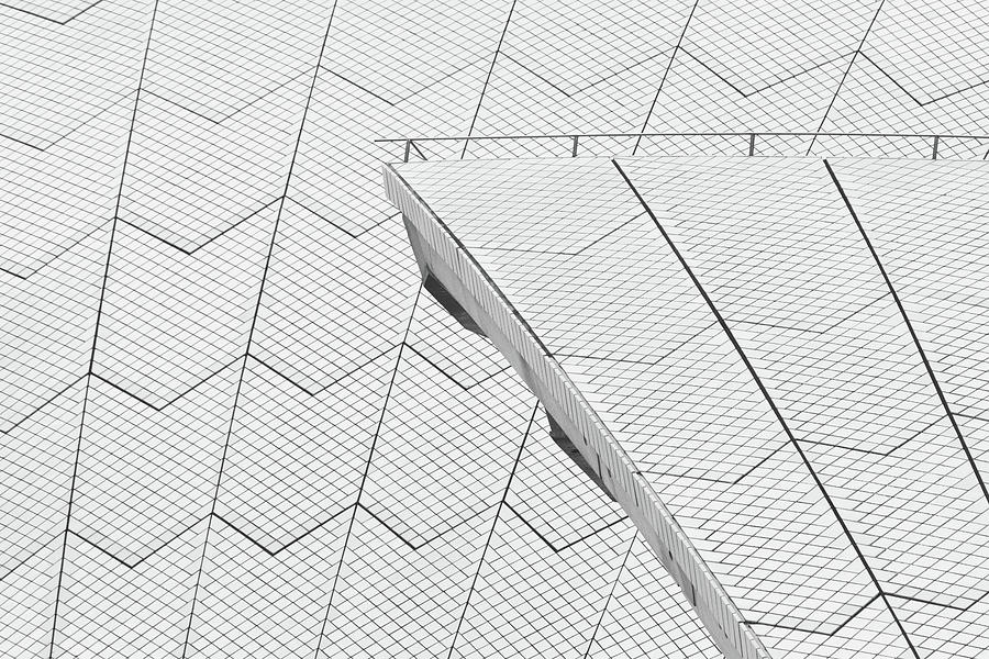 Sydney Opera House Roof No. 10-1 by Sandy Taylor