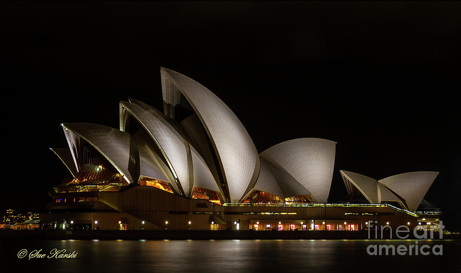 Sydney Opera House by Sue Karski
