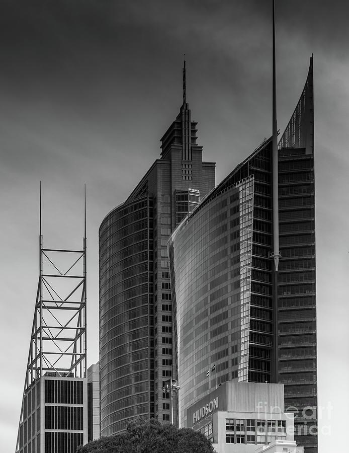 Sydney's Skyscrapers by Jola Martysz