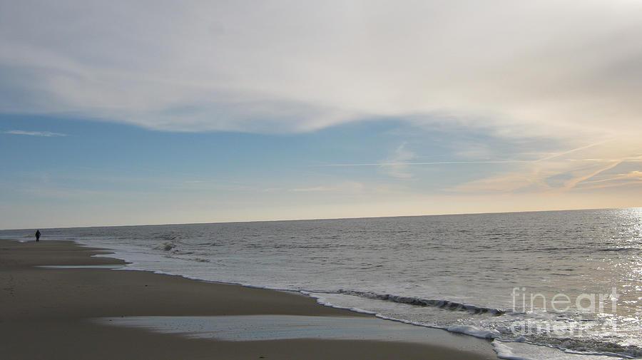 Seascape Photograph - Sylt impression by Heidi Sieber