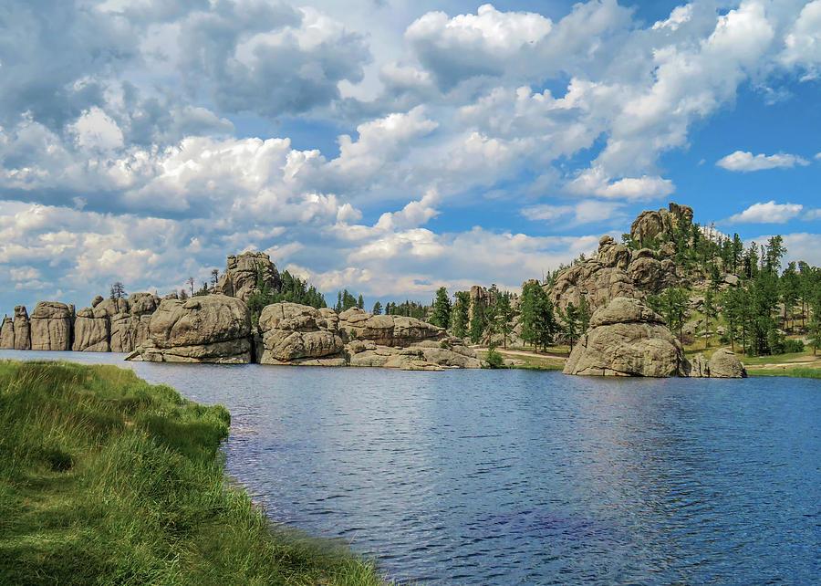 Black Hills Photograph - Sylvan Lake South Dakota by Dawn Key