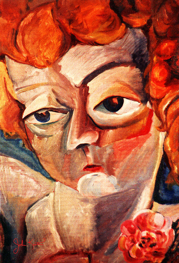 Portraits Painting - Sylvia by John Keaton
