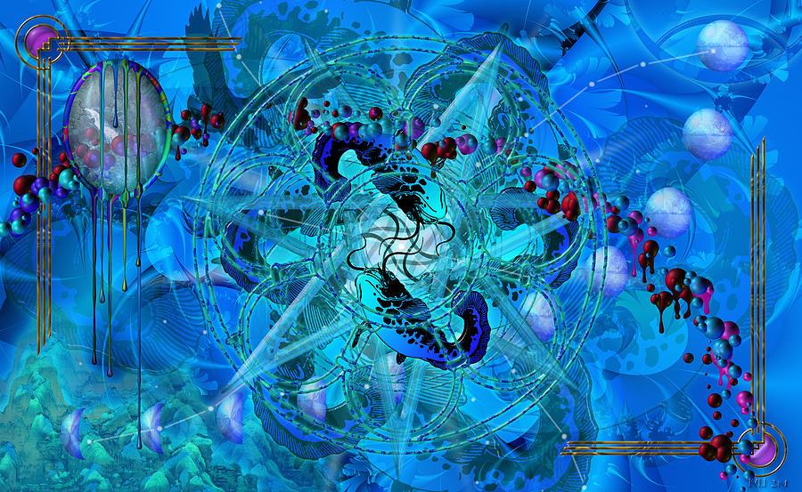Symbol Digital Art - Symagery 34 by Kenneth Armand Johnson