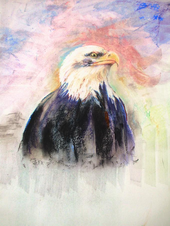 Symbol Of Pride Painting By Khalid Saeed