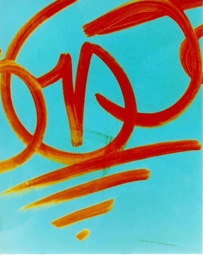 Abstract Photograph - Symbols by David Rivas