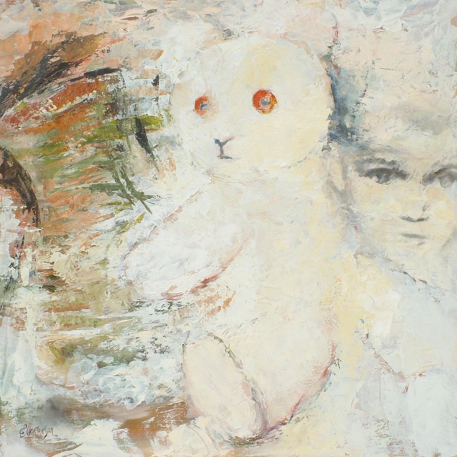 Teddy Painting - Symbols Of Comfort by Ekaterina Mortensen