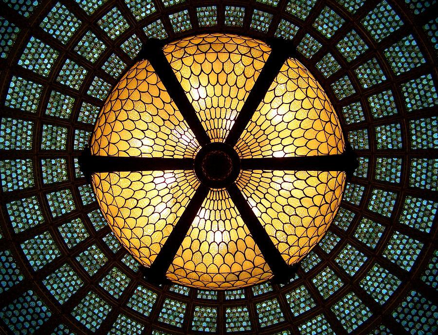 Symmetric Photograph - Symmetric Lights by Matt Cangelosi
