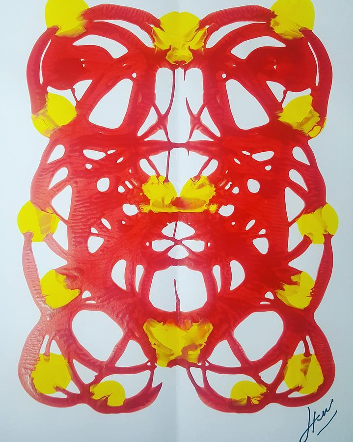 Symmetry 21 Painting by Keri Fuller