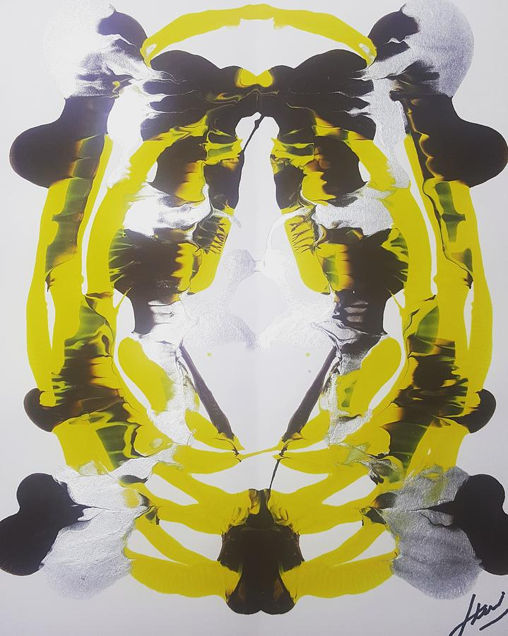 Symmetry 24 Painting by Keri Fuller