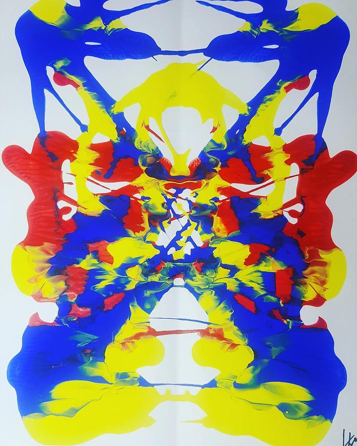 Symmetry  25 Painting by Keri Fuller