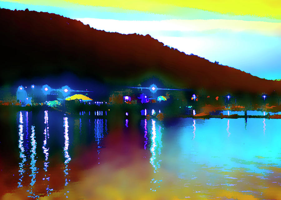 Abstract Photograph - Symphony River by Roger Bester